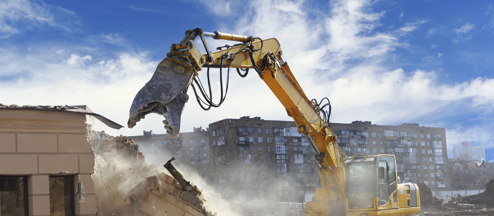 Demolition Machinery from Prichards Contracting